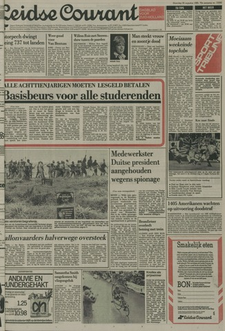 Leidse Courant 1985-08-26