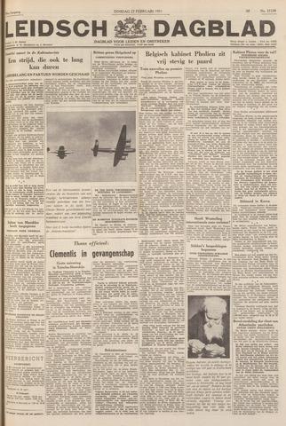 Leidsch Dagblad 1951-02-27