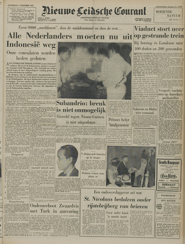 Nieuwe Leidsche Courant 1957-12-05