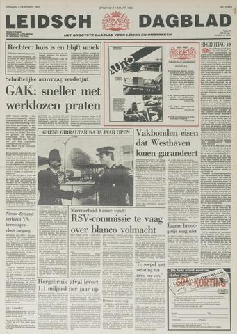 Leidsch Dagblad 1985-02-05