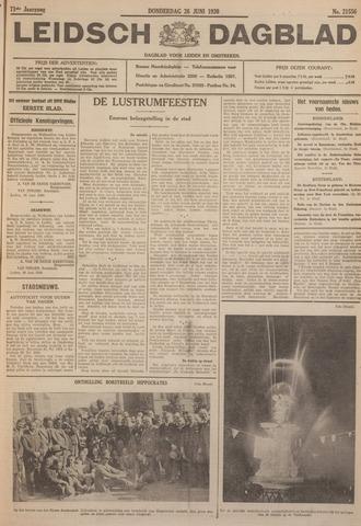 Leidsch Dagblad 1930-06-26