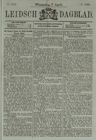 Leidsch Dagblad 1880-04-07