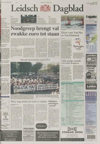 Leidsch Dagblad 2000-09-23