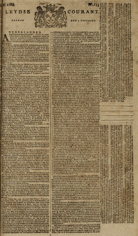 Leydse Courant 1784-11-05