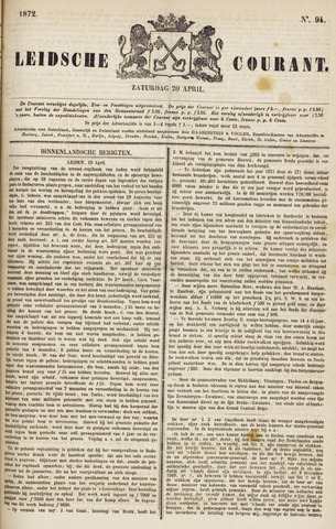 Leydse Courant 1872-04-20