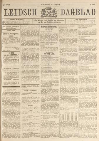 Leidsch Dagblad 1915-04-13