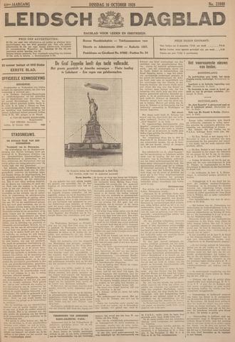 Leidsch Dagblad 1928-10-16
