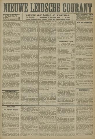 Nieuwe Leidsche Courant 1923-10-22