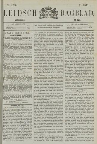 Leidsch Dagblad 1875-07-22