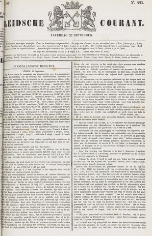 Leydse Courant 1871-09-23
