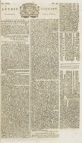Leydse Courant 1822-04-17