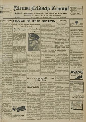 Nieuwe Leidsche Courant 1939-11-09