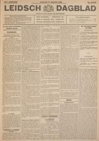 Leidsch Dagblad 1928-01-10