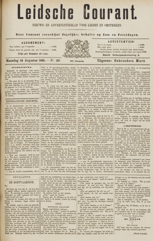 Leydse Courant 1885-08-24