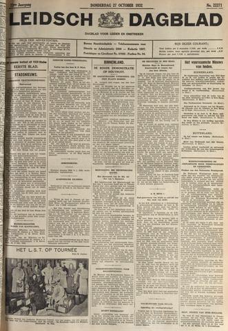 Leidsch Dagblad 1932-10-27