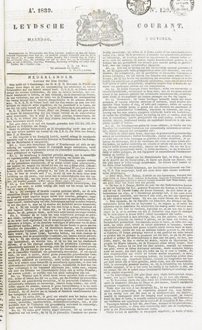 Leydse Courant 1839-10-07