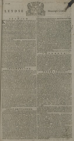 Leydse Courant 1739-11-02