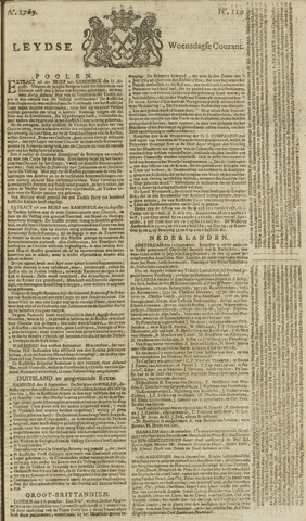 Leydse Courant 1769-09-13