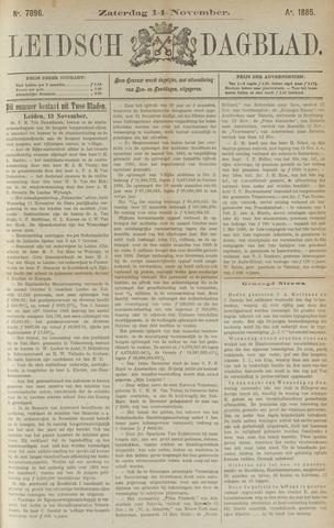 Leidsch Dagblad 1885-11-14