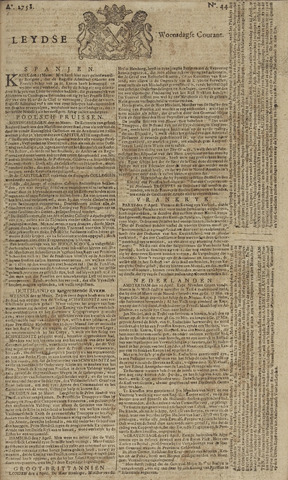 Leydse Courant 1758-04-12