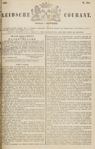 Leydse Courant 1883-09-07