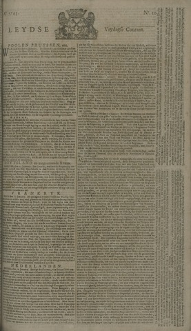 Leydse Courant 1745-01-22