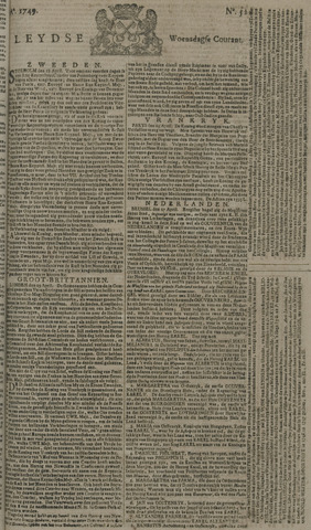 Leydse Courant 1749-04-30