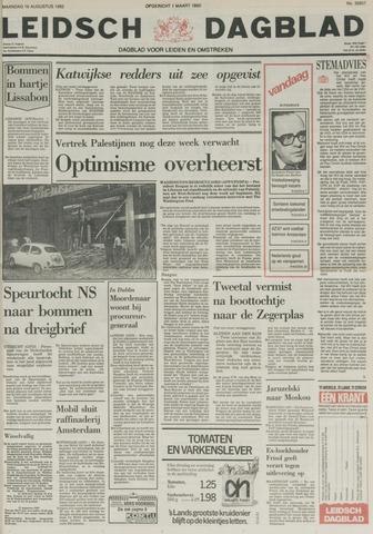 Leidsch Dagblad 1982-08-16