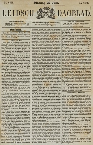 Leidsch Dagblad 1882-06-27