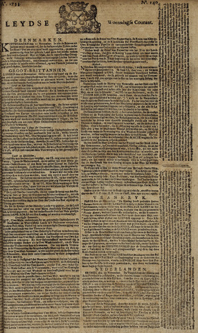 Leydse Courant 1753-11-21