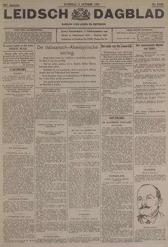 Leidsch Dagblad 1935-10-05
