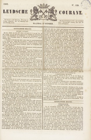 Leydse Courant 1862-10-27