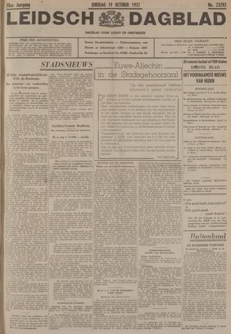 Leidsch Dagblad 1937-10-19