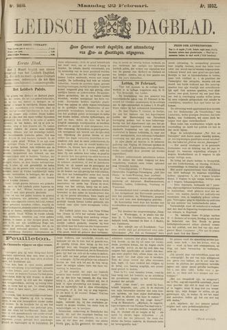 Leidsch Dagblad 1892-02-22