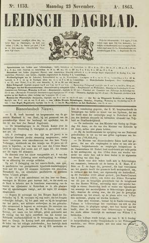 Leidsch Dagblad 1863-11-23