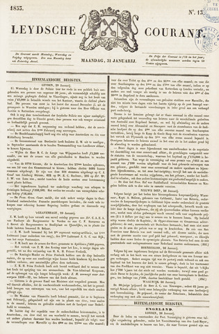 Leydse Courant 1853-01-31