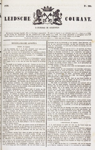 Leydse Courant 1876-08-26