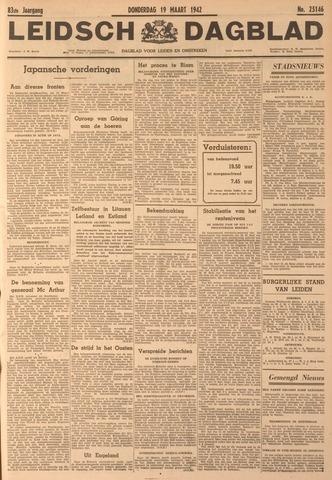 Leidsch Dagblad 1942-03-19