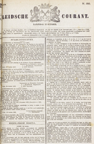 Leydse Courant 1879-10-25