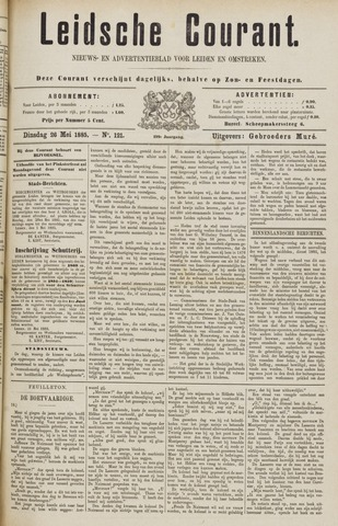 Leydse Courant 1885-05-26