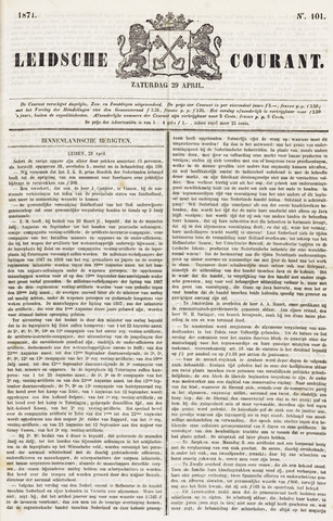 Leydse Courant 1871-04-29