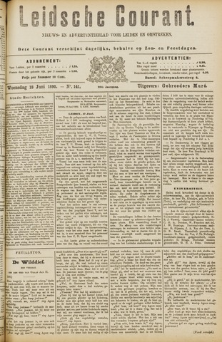 Leydse Courant 1890-06-18