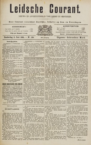 Leydse Courant 1885-06-11