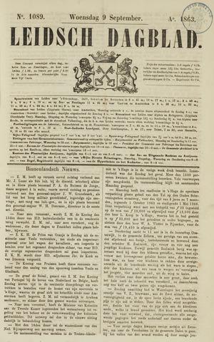 Leidsch Dagblad 1863-09-09