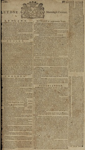 Leydse Courant 1767-01-26