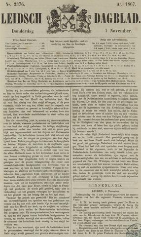 Leidsch Dagblad 1867-11-07