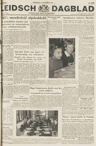Leidsch Dagblad 1954-11-10