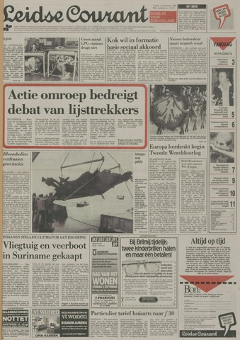 Leidse Courant 1989-09-01