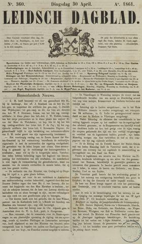 Leidsch Dagblad 1861-04-30