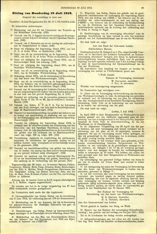 Handelingen van de Raad 1912-07-18